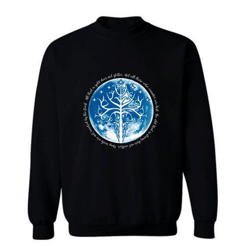 White Tree Of The Moon Sweatshirt
