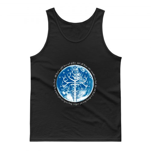 White Tree Of The Moon Tank Top