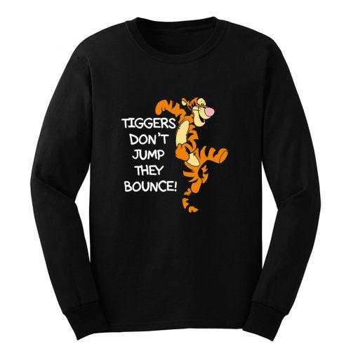 Winnie The Pooh Tigger Quote Cartoon Long Sleeve