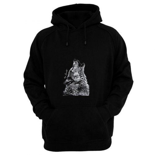 Wolf American Apparel Hoodie