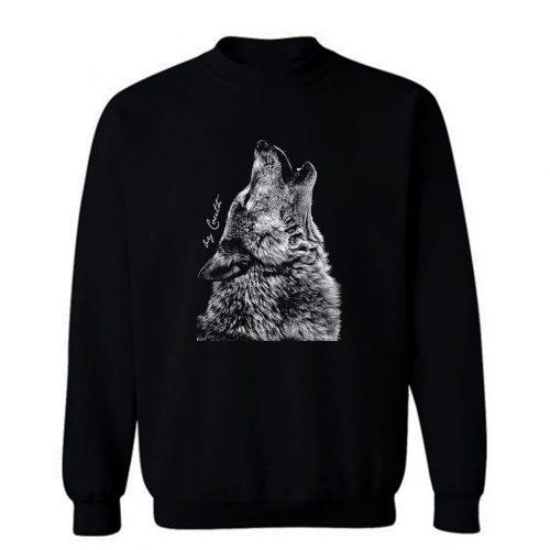 Wolf American Apparel Sweatshirt