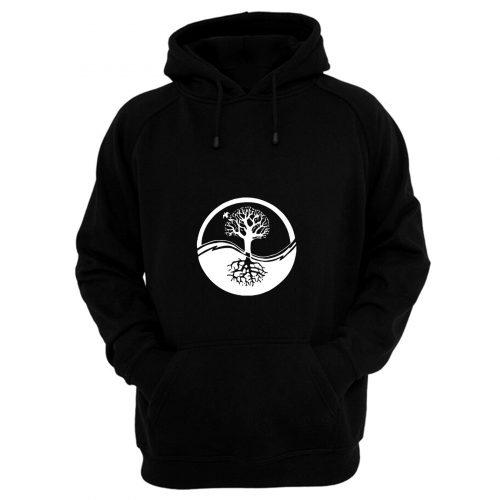 Yin And Yang Tree Of Life Hoodie