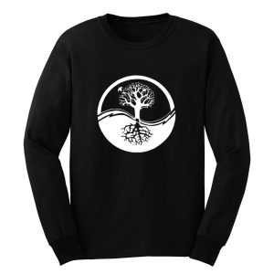Yin And Yang Tree Of Life Long Sleeve
