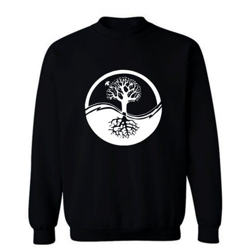 Yin And Yang Tree Of Life Sweatshirt