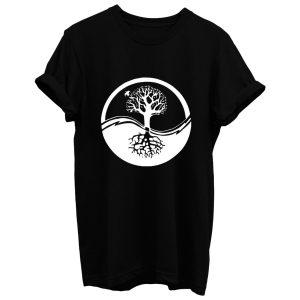 Yin And Yang Tree Of Life T Shirt