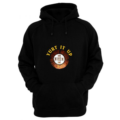 Yurt It Up Camping Circular Hoodie