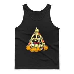 Zombie Pizza Tee Premium Tank Top
