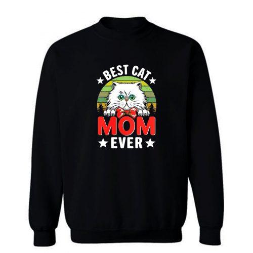 Best Cat Mom Ever Sweatshirt