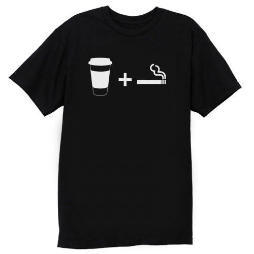Coffee Cigarettes T Shirt