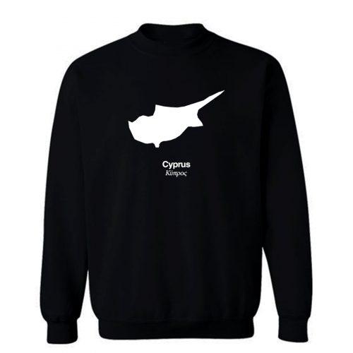 Country Silhouetten Cyprus Sweatshirt
