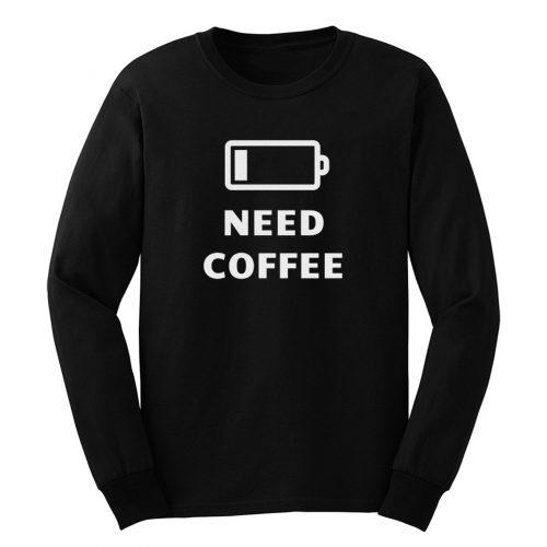 Cute Coffee Long Sleeve