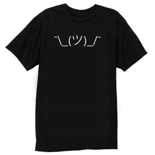 Emoji Emoticon Shrug T Shirt