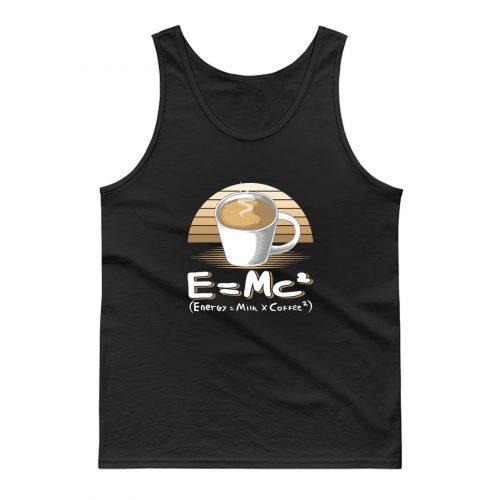 Energy Milk And Coffee Tank Top