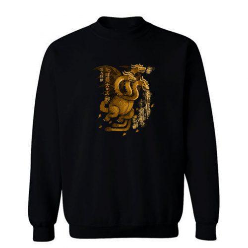 Ghidorah The Three Headed Monster Sweatshirt