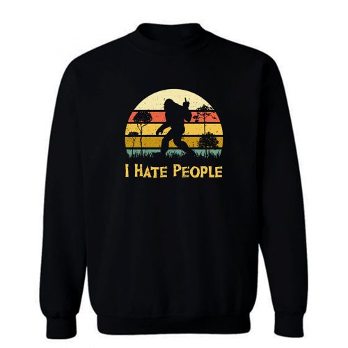 I Hate People Middle Finger Sweatshirt