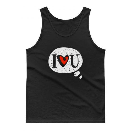 I Love You Tank Top