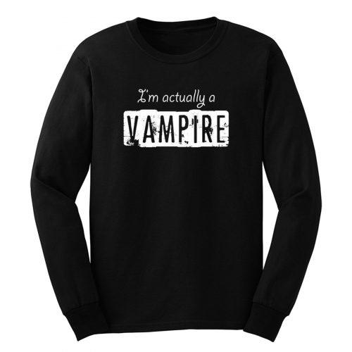 Ich Eigentlich Ein Vampir Long Sleeve