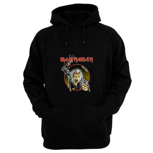Iron Maiden Eddie Metal Hook Band Hoodie