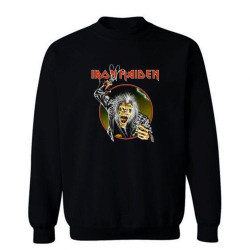 Iron Maiden Eddie Metal Hook Band Sweatshirt