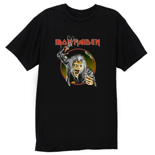 Iron Maiden Eddie Metal Hook Band T Shirt