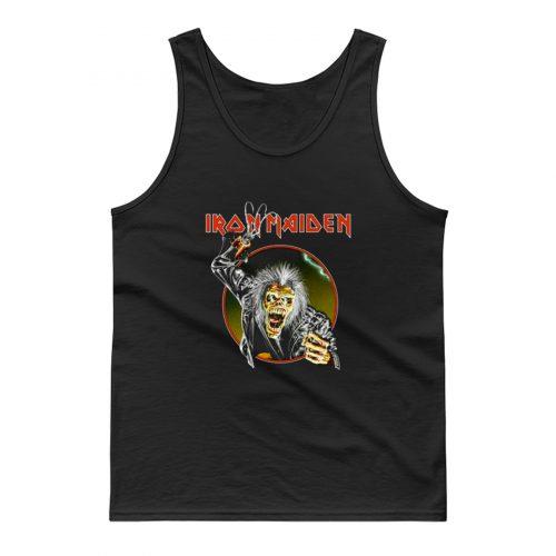 Iron Maiden Eddie Metal Hook Band Tank Top
