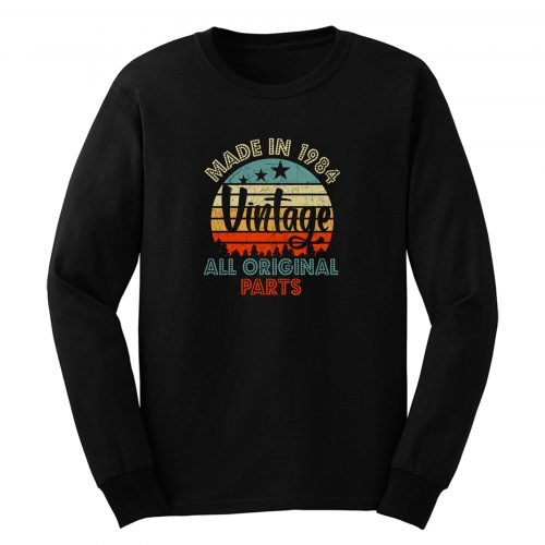 Made In 1984 Vintage All Original Parts Long Sleeve