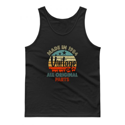 Made In 1984 Vintage All Original Parts Tank Top