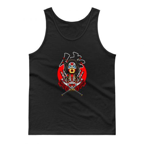 Mecha Samurai Tank Top