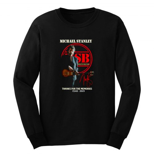 Michael Stanley Band Thanks For The Memory Long Sleeve