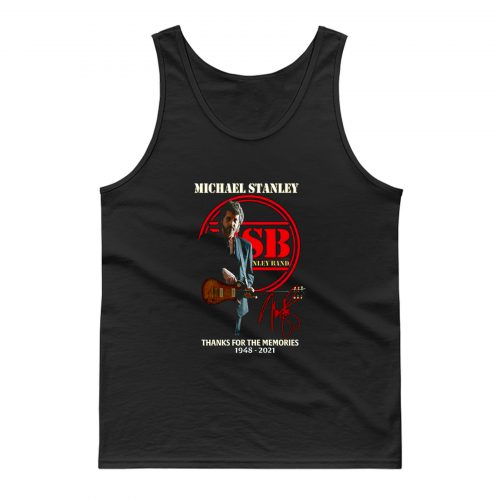 Michael Stanley Band Thanks For The Memory Tank Top