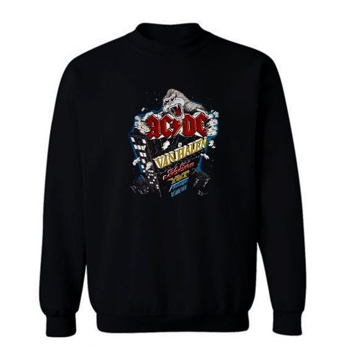 Monsters Of Rock Donington Park Uk 1984 Vintage Sweatshirt