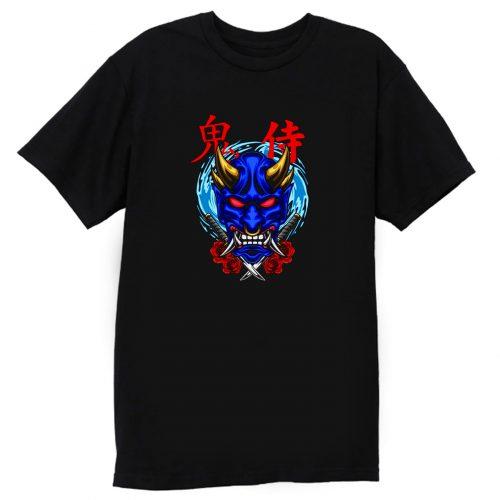 Oni Mask Illustration 02 T Shirt
