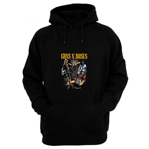Rock Roll The Most Dangerous Band In The World Men Hoodie