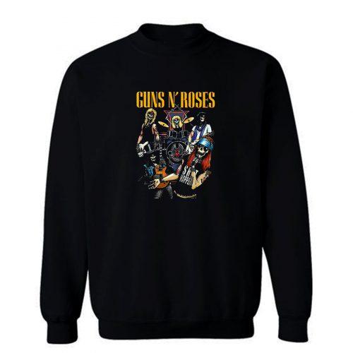 Rock Roll The Most Dangerous Band In The World Men Sweatshirt