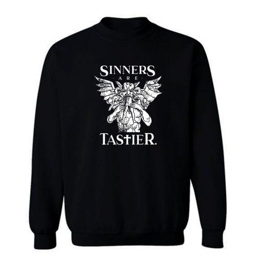 Sinners Are Tastier Sweatshirt