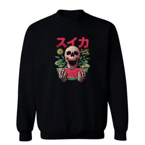 Sweet Death Skull Colors Sweatshirt