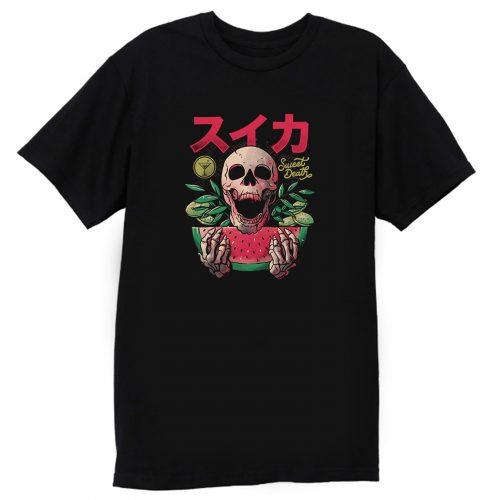Sweet Death Skull Colors T Shirt