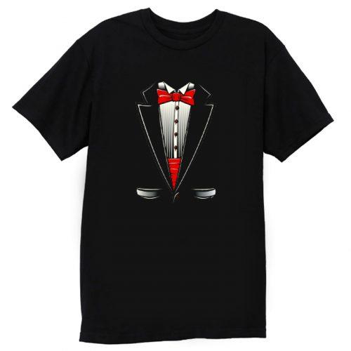 Tuxedo Bow Tie Youth T Shirt