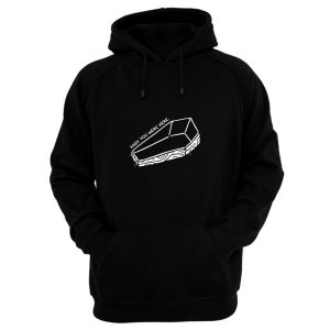 Wish You Were Here Coffin Hoodie