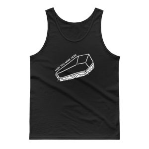 Wish You Were Here Coffin Tank Top