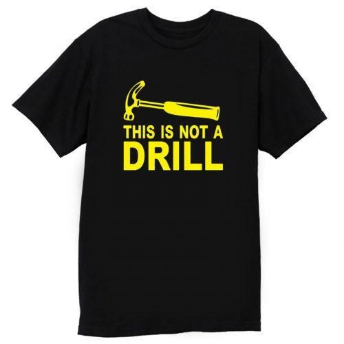 A Not Cotton Drill T Shirt
