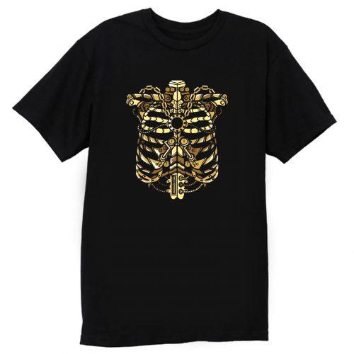 Air Jordan 1 Black Metallic Gold Metallic Ribcage T Shirt