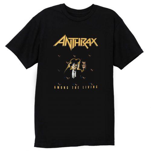 Anthrax Among The Living Black T Shirt