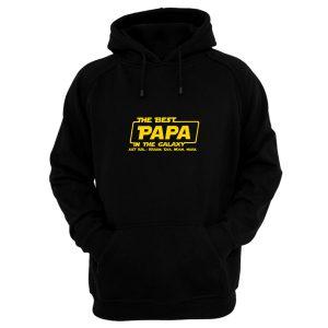 Best Papa In The Galaxy Hoodie