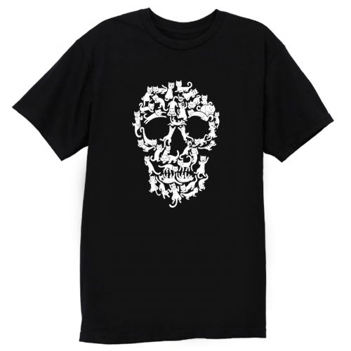 Catskull Black T Shirt