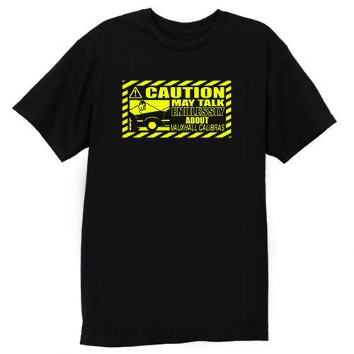 Caution Classic Car T Shirt