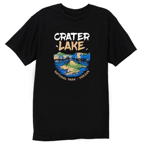 Crater Lake National Park Us Oregon Vintage T Shirt