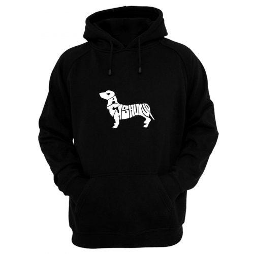 Dachshund Logo Hoodie
