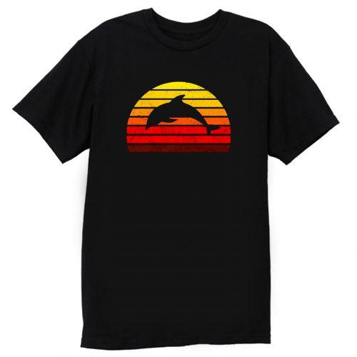 Dolphin Sunset T Shirt