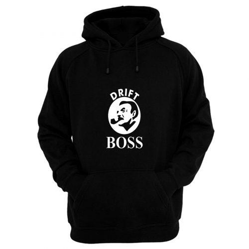 Drift Boss Logo Hoodie